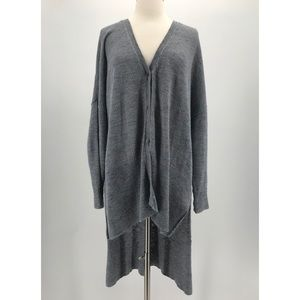Free People High Low Duster Cardigan
